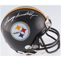 Terry Bradshaw Signed Steelers Mini Helmet (JSA COA)