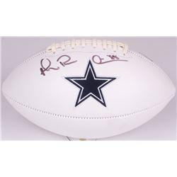 "Michael Irvin Signed Cowboys Logo Football Inscribed ""Playmaker"" (Radtke COA)"