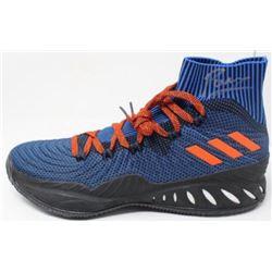 Kristaps Porzingis Signed Adidas Basketball Shoe (Steiner Hologram)