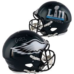 Alshon Jeffery Signed Eagles Super Bowl LII Full-Size Authentic On-Field Speed Helmet (Fanatics Holg
