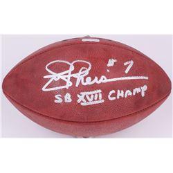 "Joe Theisman Signed Wilson Super Bowl XVII NFL Game Ball Inscribed ""SB VXII Champs"" (Radtke COA)"