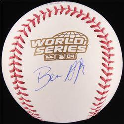 Ben Affleck Signed 2004 World Series Baseball (Beckett COA)