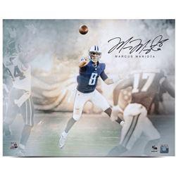 "Marcus Mariota Signed Titans ""Rising Star"" 16x20 Limited Edition Photo (UDA COA)"