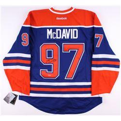 Connor McDavid Signed Authentic Oilers Captain Jersey (UDA COA)