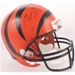 A.J. Green Signed Bengals Full-Size Helmet (JSA COA)