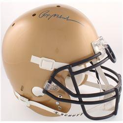 Roger Staubach Signed Navy Midshipmen Full-Size Authentic On-Field Helmet (JSA COA  Staubach Hologra