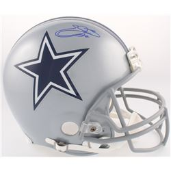 Emmitt Smith Signed Cowboys Full-Size Authentic On-Field Helmet (Beckett COA)