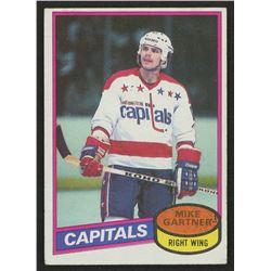 1980-81 Topps #195 Mike Gartner RC