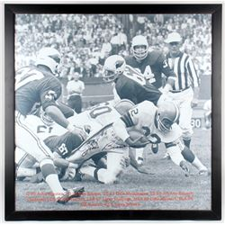 Jim Brown Signed 39x39 Custom Framed Photo (SGC COA)