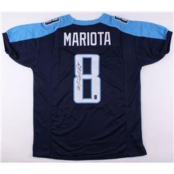 Marcus Mariota Signed Titans Jersey (JSA COA  Mariota Hologram)