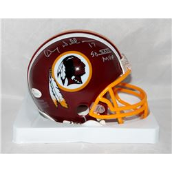 "Doug Williams Signed Redskins Mini Helmet Inscribed ""SB XXII MVP"" (JSA COA)"