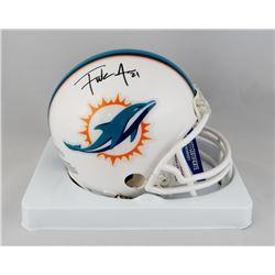 Frank Gore Signed Dolphins Mini Helmet (Beckett COA)
