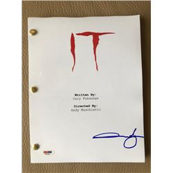 "Andres Muschietti Signed ""IT"" Full Movie Script (PSA COA)"