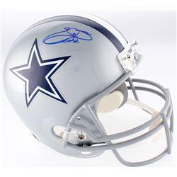Emmitt Smith Signed Cowboys Full-Size Helmet (Beckett COA)