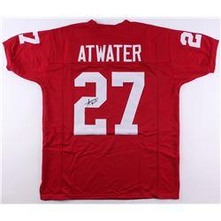 Steve Atwater Signed Arkansas Razorbacks Jersey (JSA COA)