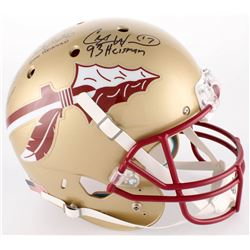 Jameis Winston, Charlie Ward  Chris Weinke Florida State Seminoles Full-Size Helmet with (3) Heisman