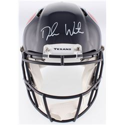 Deshaun Watson Signed Texans Authentic On-Field Full-Size Speed Helmet (Beckett COA  Watson Hologram