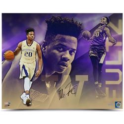 "Markelle Fultz Signed ""Top Prospect"" Washington Huskies 16x20 Photo (UDA COA)"