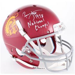"Ronnie Lott Signed USC Trojans Full-Size Helmet Inscribed ""1978 National Champs!"" (Radtke COA  Lott"