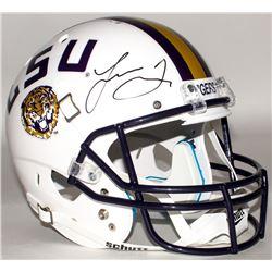 Leonard Fournette Signed LSU Tigers Full-Size Helmet (Panini COA)