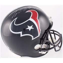 Will Fuller Signed Texans Full-Size Helmet (JSA COA)