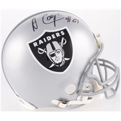 Amari Cooper Signed Raiders Full-Size Authentic On-Field Helmet (JSA COA)