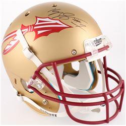 Kelvin Benjamin Signed Florida State Seminoles Full-Size Helmet (Beckett COA)