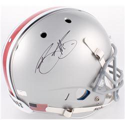 Braxton Miller Signed Ohio State Buckeyes Full-Size Helmet (Radtke Hologram)