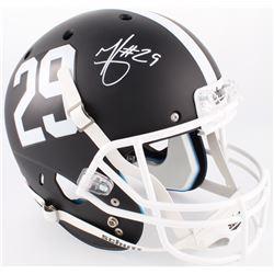 Minkah Fitzpatrick Signed Alabama Crimson Tide Matte Black Full-Size Helmet (Radtke COA)
