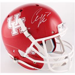 Case Keenum Signed Houston Cougars Full-Size Helmet (JSA COA)