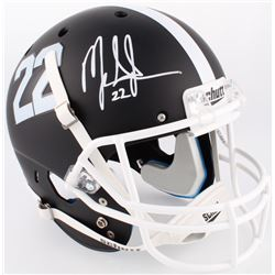Mark Ingram Jr. Signed Alabama Crimson Tide Custom Matte Black Full-Size Helmet (Radtke COA  Ingram
