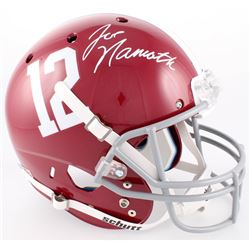 Joe Namath Signed Alabama Full-Size Helmet (Radtke COA  Namath Hologram)