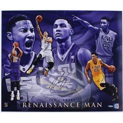 "Ben Simmons Signed LSU Tigers ""Renaissance Man"" 20x24 Photo (UDA COA)"