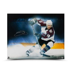 "Joe Sakic Signed Avalanche LE ""Stop On A Dime"" 16x20 Photo (UDA COA)"