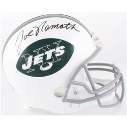 Joe Namath Signed Jets Full-Size Helmet (Radtke COA)