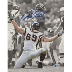 Jared Allen Signed Vikings 8x10 Photo (Beckett COA)