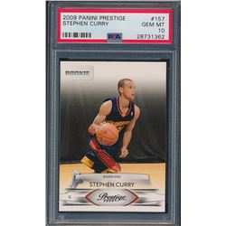 2009-10 Prestige #157 Stephen Curry RC (PSA 10)