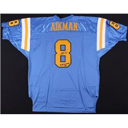 "Troy Aikman Signed UCLA Bruins Jersey Inscribed ""88 All-American"" (Mounted Memories COA)"