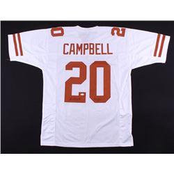 "Earl Campbell Signed Longhorns Jersey Inscribed ""HT 77"" (JSA COA)"