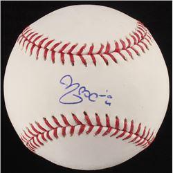 Yadier Molina Signed OML Baseball (PSA COA)
