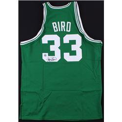Larry Bird Signed Celtics Jersey (Schwartz COA)