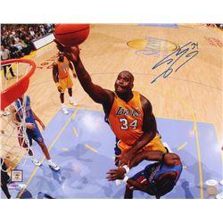 Shaquille O'Neal Signed Lakers 16x20 Photo (JSA COA)