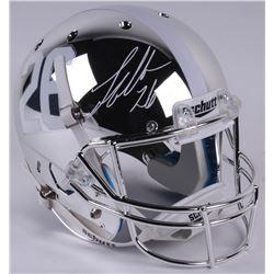 Landon Collins Signed Alabama Crimson Tide Full-Size Custom Chrome Helmet (Radtke COA)