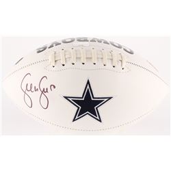 Sean Lee Signed Cowboys Logo Football (Radtke COA)