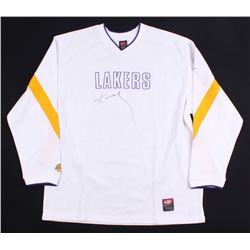 Kobe Bryant Signed Lakers Warm-Up Shirt (Beckett Hologram)