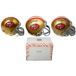 San Francisco 49ers Signed Mystery Box Mini Helmet – World Champions Edition - Series 1 - (Limited