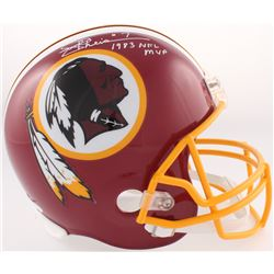 "Joe Theismann Signed Redskins Full-Size Helmet Inscribed ""1983 NFL MVP"" (JSA COA)"