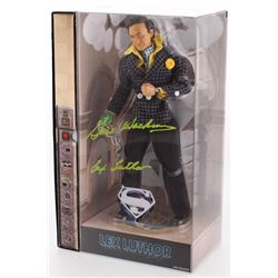 Gene Hackman Signed Lex Luther Action Figure (JSA COA)