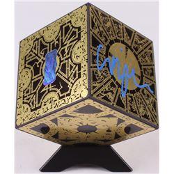 "Clive Barker Signed ""Hellraiser: Lament Configuration"" Minature Puzzle Cube Prop (Radtke COA)"