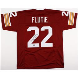 "Doug Flutie Signed Boston College Eagles Jersey Inscribed ""Heisman 84"" (JSA COA)"